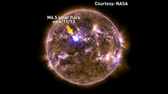 Solar Flare 4-11-13 M6.5