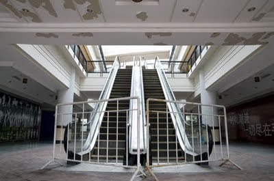 Ghost Town The Worlds Biggest Shopping Mall Strange