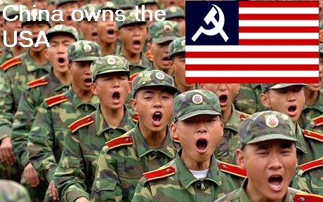 Is China buying The USA?