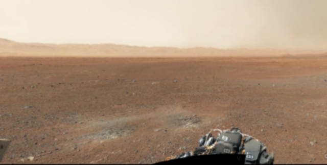 Amazing Curiosity Rover First Colour 360 Panorama