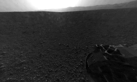 NASA Curiosity Landing Video