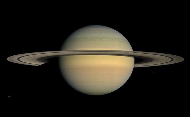 NASA discovers 'WARM OCEANS' on Saturn moon