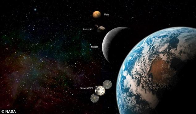NASA reveals dark side of the moon trip