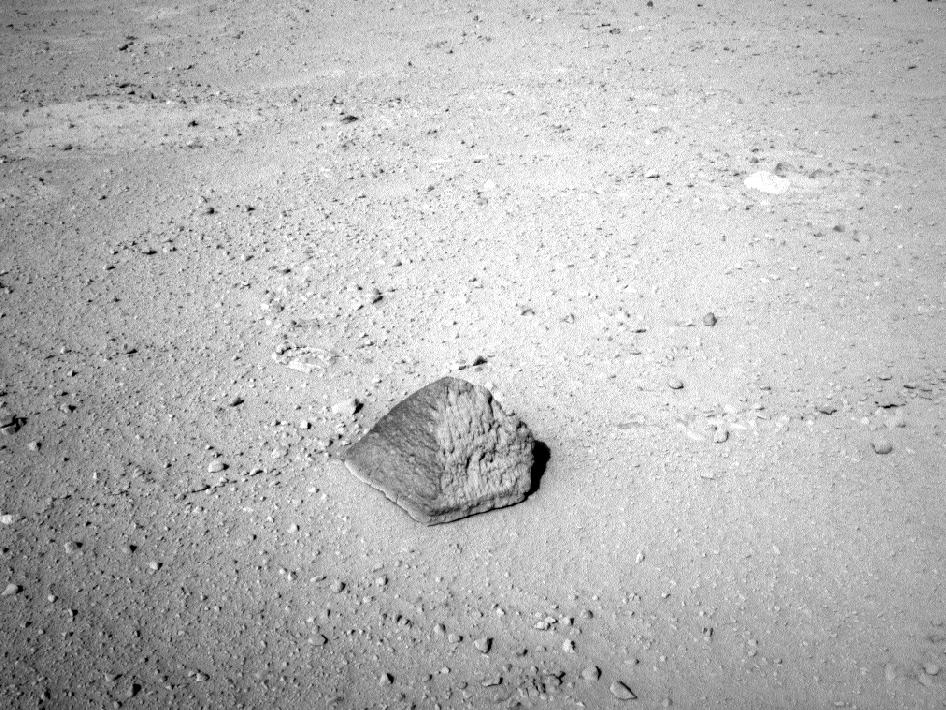 Mars Rover discovers alien brick?