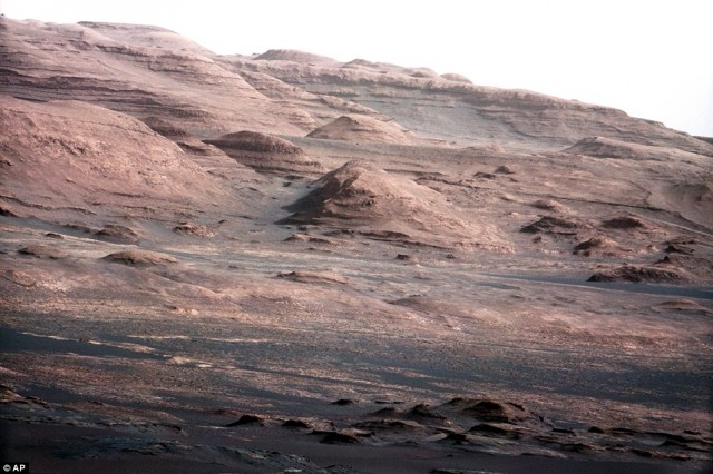 Mars Rover Destination is hidden UFO?