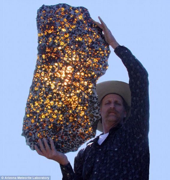 Mysterious Meteorite Hits Earth