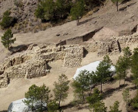 ANCIENT FORTRESS FOUND IN SPAIN