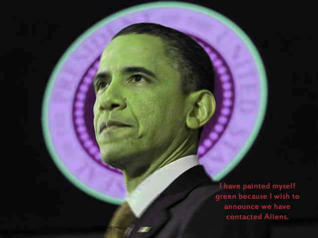 Barack Obama 'on brink of revealing intelligent aliens visit Earth'
