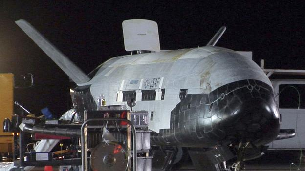 X-37B: Secrets of the US military spaceplane