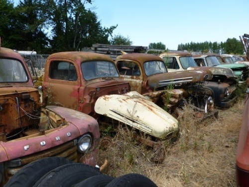 Car Graveyard, Abandoned