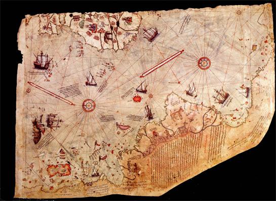 Piri Reis Map Mystery