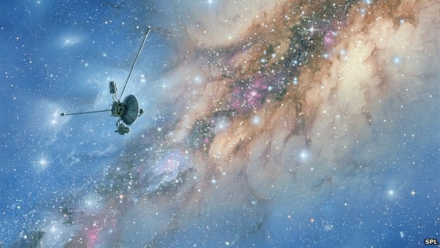 Voyager exits solar system – mystery