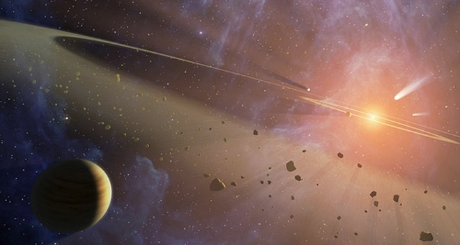 Asteroid may show evidence of alien mine
