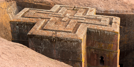 Lalibela's underground churches