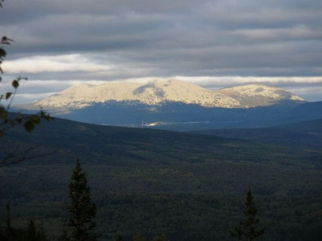 Base in aural Mountains on Yamantau Mountain,