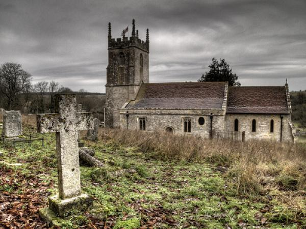 Ghost Town, – Copehill Down,Imber, UK