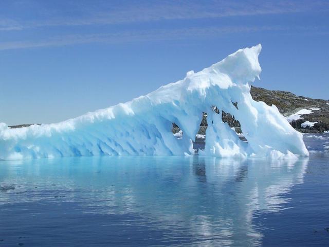 ice burg in sea