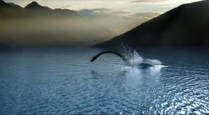 Loch Ness Monsters relative caught on film!!