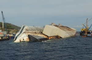 Costa Concordia raised! – gallery