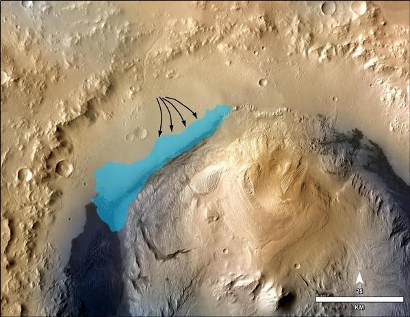 "NASA studies on ancient Mars lake ""a turning point"" in search for life"