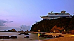 Strange Places – SUN CRUISE HOTEL, SOUTH KOREA