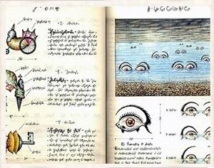 Strange Unexplained Books – The Codex Seraphinianus