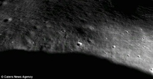 What is this mystery object spotted on Google Moon?