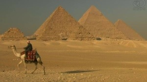 Egypt step pyramid uncovered: 16 ft pyramid a mystery