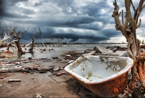 The town the dam destroyed – Villa Epecuén
