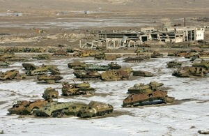 USSR – Tank graveyard, Afghanistan – amazing pictures