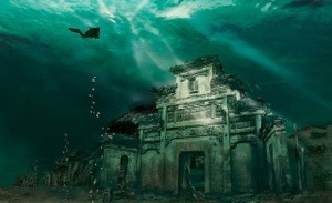 The Amazing Underwater Lion City –  Shicheng, China
