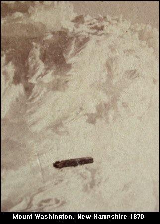 Earliest UFO Photo' Taken From Summit of Mount Washington, New Hampshire – Strange Unexplained Mysteries