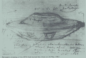 The strange Falcon Lake UFO incident