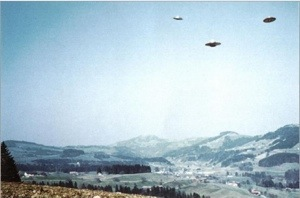 Old UFO photographs from the 1970's