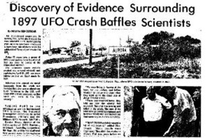 Aurora UFO crash remains a real alien mystery