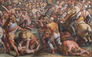 Lost Treasure –  The Battle Of Anghiari  painting