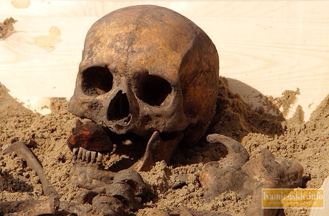 ARCHAEOLOGY 'Vampire' Skeleton Unearthed in Poland