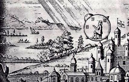 1790 UFO crash or time traveller?