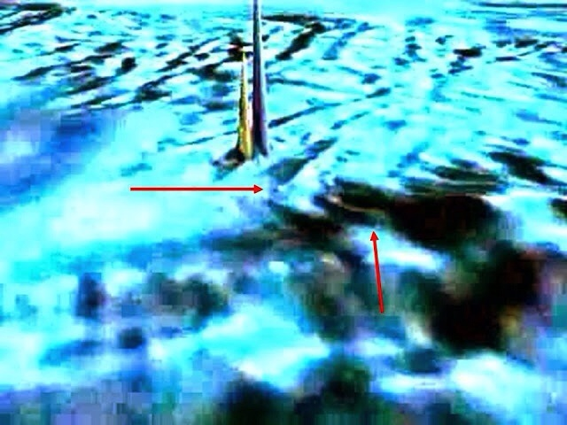 Giant Underwater Obelisks Or Towers Discovered At The Exact Opposite Side From The Great Pyramid