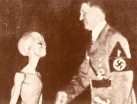 Did Hitler meet Aliens?