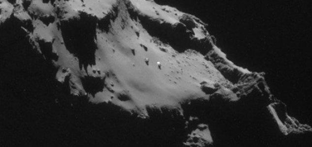 UFO found on surface of comet