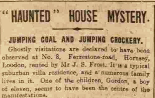 The strange mystery of The 'Hornsey Coal' Ghost