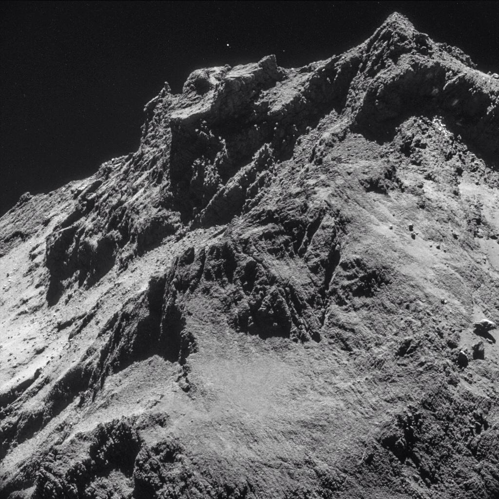 Alien life on comet