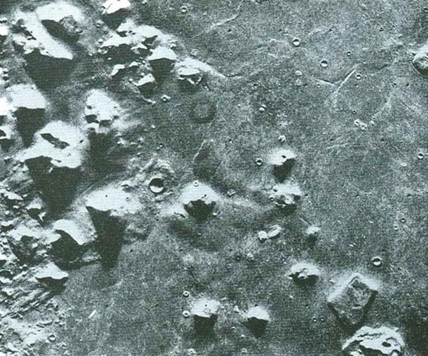 Mars ruins