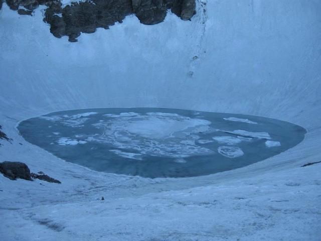 The lake,