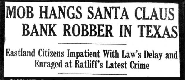 It didn't end well eh Santa!