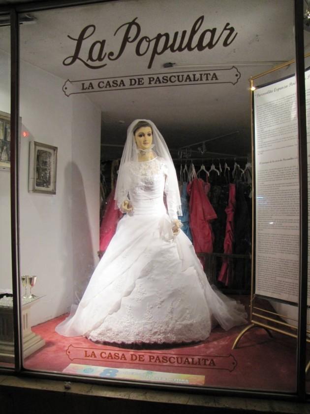The bride,
