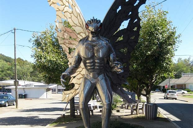 Point Pleasant tribute to the Mothman