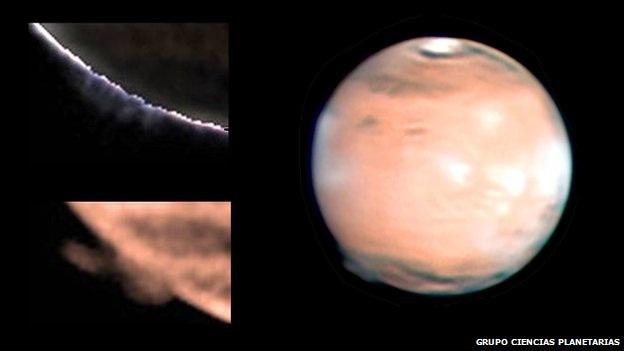 strange mystery of the Mars haze