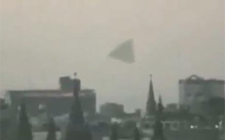 UFO over the Kremlin